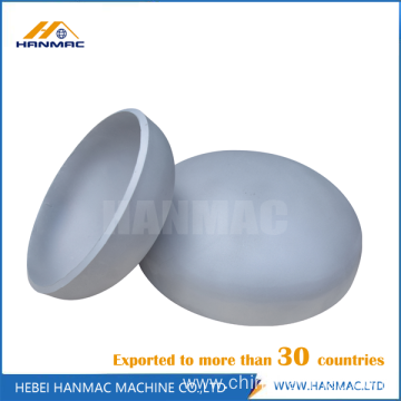 Aluminum pipe cap head